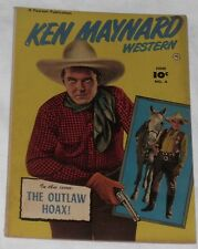 Golden Age Western Cowboy KEN MAYNARD Comics #4  FN 1951