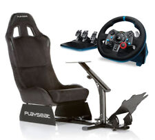 Logitech G29 Steering Wheel + Playseat Alcantara Bundle PS3/PS4/PC