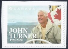 Canada 2021 ; John Turner ; Single from Booklet (P) ;  MINT NH VF