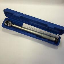 1cm DRIVE Micrometer Enchufe Par Llave ajustable Trinquete bloqueo 20-110NM
