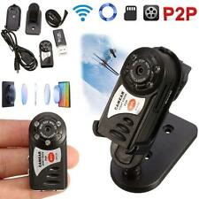 WIFI Mini DV IP Wireless Spy Cam Night Vision Camera Security For Android IOS L&