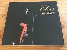 Elvis Presley cd - Here I go again - Original fold out digipak set