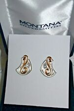 New Montana Silversmith Earrings 2T Cascade Filigree MSR$53. #STER1427