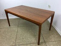 60er 70er Jahre Teak Tisch Couchtisch Coffee Table Henning Kjaernulf Design 70s