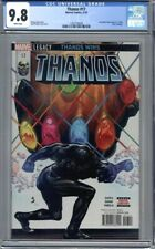 Thanos #17 Black Silver Surfer  Hulk Annual Homage Donny Cates 1st Print CGC 9.8