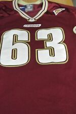 Boston College Game Used Football Jersey Size 50 #63