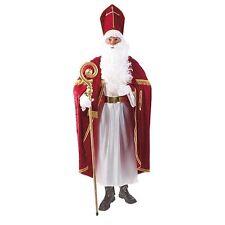 Bischofsrobe Kostüm Bischof Robe Nikolaus Weihnachtsmann Weihnachten 16052