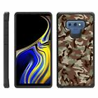 For Samsung Galaxy Note 9 Case Fitted Hybrid Dual Layer + 1 Black Case Bundle