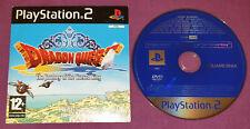 Dragon quest periplo del rey maldito PS2 PlayStation 2 Demo Disc Juego PAL Reino Unido