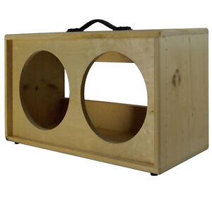 2x12 solid Pine, Raw wood Extension Guitar speaker Empty cabinet G2X12ST RW