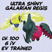 Ultra Shiny Galarian Regieleki & Regidrago / 6IV Max EVs / Pokemon Sword Shield
