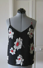 EQUIPMENT FEMME SILK FLORAL CAMISOLE TOP - XS