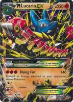 1x - Mega-Lucario-EX - 55/111 - Holo Rare ex HP Pokemon Furious Fists