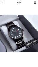 Anthony James Of London Aristocrat Men's Wrist Watch Black Sports Calendar
