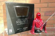Star Wars Eperors Royal Guard Statue Bust Gentle Giant - Boxed limited