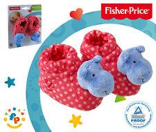 Happy People Fisher-Price Rasselschuhe 40828 Nilpferd Baby-Spielzeug Rassel