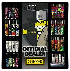 Clipper Feuerzeuge - Viele verschiedene Serien zur Auswahl - Mengenrabatte