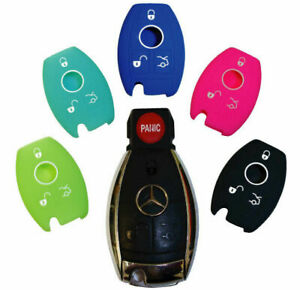 Mercedes Benz keyless entry remote rubber key fob silicone cover skin case