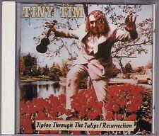 Tiny Tim - Tiptoe Through The Tulips / Resurrection - CD (Bear Family BCD15409)