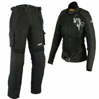 Damen Motorrad Textil Jacke und Hose Damen Motorrad Sommer Jacke Motorrad kombi