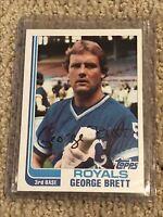 1982 Topps (HOF) George Brett Card #200 Kansas City Royals in MINT CONDITION!!