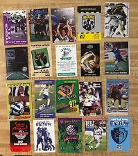 1997 Professional Soccer Schedule Lot of 20