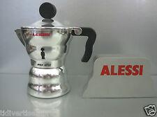 ALESSI -  CAFFETTIERA AAM33/3-TAZZE 3-ALLUMINIO- alessandro mendini