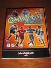 ALBUM CALCIATORI PANINI GAZZETTA DELLO SPORT 2001/02