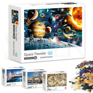 Jigsaw Puzzles 1000 Piece Space Adult Kids DIY Puzzle Child Game Home Decor Gift