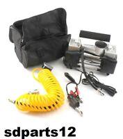 Compressore 2 Cilindri 12v 150psi Per Auto Viaggio Casa Furgone + Borsa Compresa