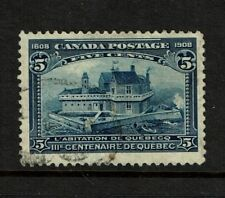 Canada SC# 99, Used, Hinge Remnant - S2653