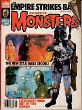 A Warren Magazine Famous Monsters #166 AUG 1980 Empire Strikes Back