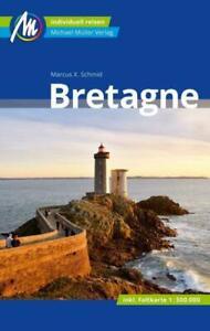 REISEFÜHRER Bretagne 2019/120+ LANDKARTE, Michael Müller Verlag, UNGELESEN