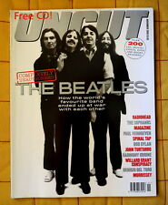 UNCUT  rare magazine BEATLES cover Radiohead Bob Dylan Morrissey November 2000