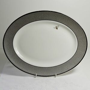 """Kate Spade  """"CRESCENT DRIVE""""  Large Oval Platter  - 34cm - LIMITED EDITION"""
