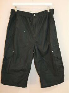 Pacifica Brand Men's Black Cargo Short Size 36 BNWT #SW59