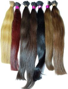 Remy Virgin Filipino Human Hair I Tip Extensions 1G Micro Rings
