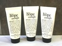 LOT OF 3 Philosophy When Hope Is Not Enough Hydrating Cleansing Balm 1 fl oz