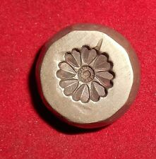 Vintage Bronze Die For Jewellery Tops Design Hand Engraved  (D17)
