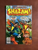 Shazam! #34 (1978) 6.5 FN DC Key Issue Bronze Age Comic Book Captain Nazi