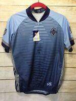 NEW Vomax Vancouver Whitecaps Cycling Jersey MLS  Shirt Women's Size Large