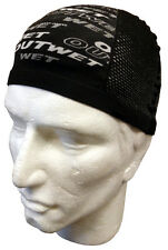 Cycling Skull Cap in Black - Made in Italy by Outwet