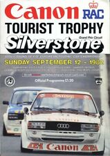 Silverstone Canon Tourist Trophy 12 Sept 1982 official race programme