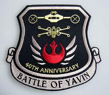 Star Wars - 40th Anniversary - Battle of Yavin - Patch Aufnäher zum Aufbügeln