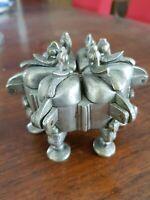 Ancienne boite à épice orientale chine ? en bronze