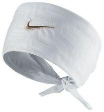 Nike Tennis Bandana Hero Print White/Metallic Zinc Federer Rafa Nadal 598204-121