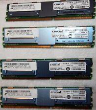 Crucial 8GB (4x2GB) PC2-5300F DDR2-667 240-PIN Server Buffered server RAM