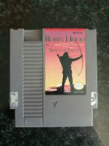 NTSC Nintendo NES - Robin Hood Prince Of Thieves