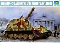 Trumpeter 1:35 Grille 30-30.5cm (Grw) L/16 Morser 'BAR' (Bear) SPG Model Kit