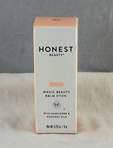 Honest Magic Beauty Balm Stick With Sunflower And Coconut Oil .28 Oz / 8g NIB